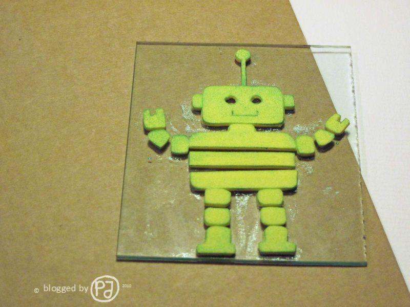 Robot-foamstamp